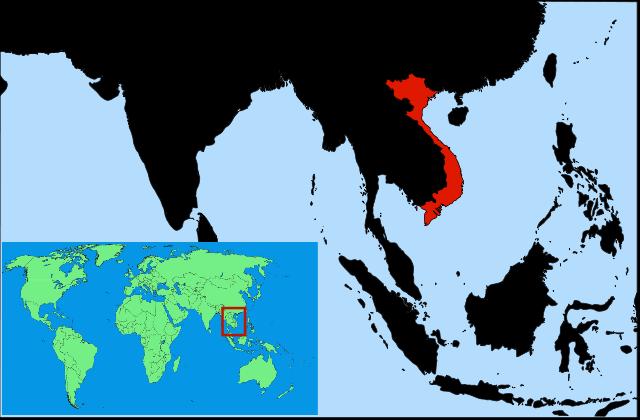 מפת וייטנאם